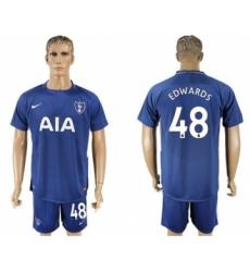 Tottenham Hotspur #48 Edwards Away Soccer Club Jersey