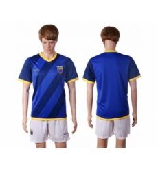 Ecuador Blank Away Soccer Country Jersey