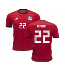 Egypt #22 Warda Red Home Soccer Country Jersey