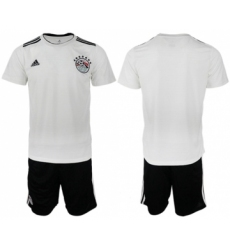 Egypt Blank Away Soccer Country Jersey