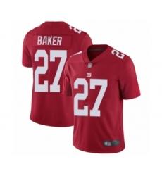 Men's New York Giants #27 Deandre Baker Red Alternate Vapor Untouchable Limited Player Football Jersey