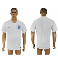 England Blank Home Thai Version Soccer Country Jersey
