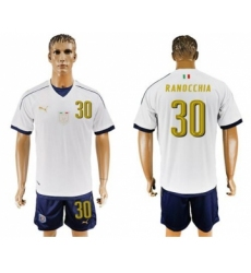 Italy #30 Ranocchia Away Soccer Country Jersey