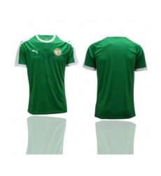 Senegal Blank Home Soccer Country Jersey