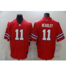 Men's Buffalo Bills #11 Cole Beasley Red Nike Royal Limited Player Jersey