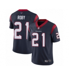 Men's Houston Texans #21 Bradley Roby Navy Blue Team Color Vapor Untouchable Limited Player Football Jersey