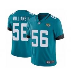 Men's Jacksonville Jaguars #56 Quincy Williams II Teal Green Alternate Vapor Untouchable Limited Player Football Jersey