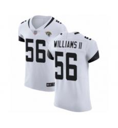 Men's Jacksonville Jaguars #56 Quincy Williams II White Vapor Untouchable Elite Player Football Jersey