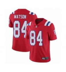 Men's New England Patriots #84 Benjamin Watson Red Alternate Vapor Untouchable Limited Player Football Jersey