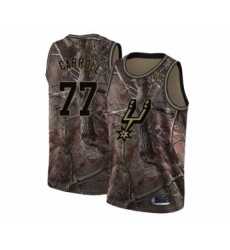Men's San Antonio Spurs #77 DeMarre Carroll Swingman Camo Realtree Collection Basketball Jersey