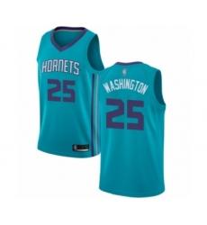 Men's Jordan Charlotte Hornets #25 PJ Washington Authentic Teal Basketball Jersey - Icon Edition