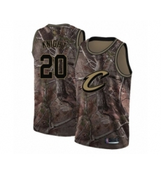 Men's Cleveland Cavaliers #20 Brandon Knight Swingman Camo Realtree Collection Basketball Jersey