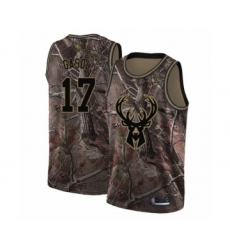 Men's Milwaukee Bucks #17 Pau Gasol Swingman Camo Realtree Collection Basketball Jersey