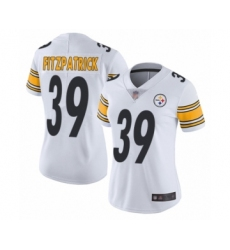 Women's Pittsburgh Steelers #39 Minkah Fitzpatrick White Vapor Untouchable Limited Player Football Jersey