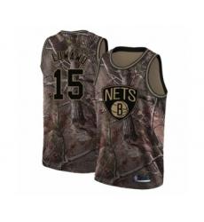 Men's Brooklyn Nets #15 Timothe Luwawu Swingman Camo Realtree Collection Basketball Jersey