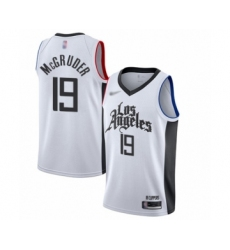 Men's Los Angeles Clippers #23 Lou Williams Swingman Black Basketball Jersey Statement Edition