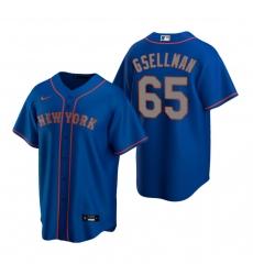 Men's Nike New York Mets #65 Robert Gsellman Royal Alternate Road Stitched Baseball Jersey
