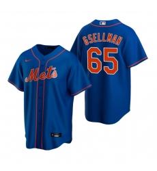 Men's Nike New York Mets #65 Robert Gsellman Royal Alternate Stitched Baseball Jersey