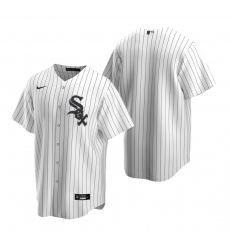 Men's Nike Chicago White Sox Blank White Home Stitched Baseball Jersey