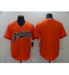 Men's Nike Cleveland Indians Blank Rde Home Baseball Jersey