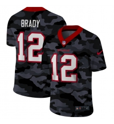 Men's Tampa Bay Buccaneers #12 Tom Brady Camo 2020 Nike Limited Jersey