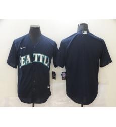 Men's Nike Seattle Mariners Blank Blue Jersey