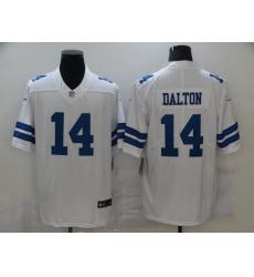 Men's Dallas Cowboys #14 Andy Dalton Nike White Limited Jersey