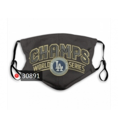 MLB Los Angeles Dodgers Mask-0019