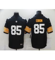 Men's Pittsburgh Steelers #85 Eric Ebron Nike Black Limited Jersey