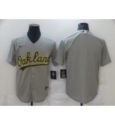 Men's Baltimore Orioles Blank Gray Nike Jersey
