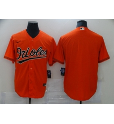 Men's Baltimore Orioles Blank Orange Nike Authentic Jersey