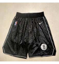 Men's Brooklyn Nets Black Award Shorts