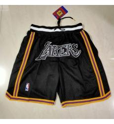 Men's Los Angeles Lakers The black bag Shorts