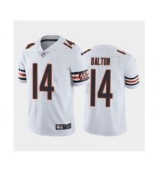 Men's Chicago Bears #14 Andy Dalton White Vapor Untouchable Limited Jersey