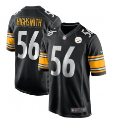 Men's Pittsburgh Steelers #56 Alex Highsmith Nike Black Limited Jersey