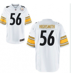Men's Pittsburgh Steelers #56 Alex Highsmith Nike White Limited Jersey