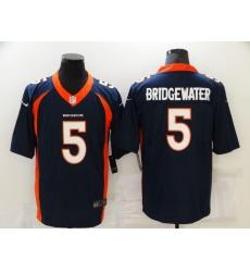 Men's Denver Broncos #5 Teddy Bridgewater Nike Blue Limited Jersey