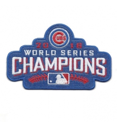 Chicago Cubs 2016 World Series Champions Patch