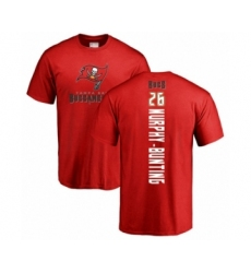 Football Tampa Bay Buccaneers #26 Sean Murphy-Bunting Red Backer T-Shirt