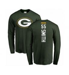 Football Green Bay Packers #55 Za'Darius Smith Green Backer Long Sleeve T-Shirt