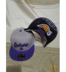 NBA Los Angeles Lakers Hats-016