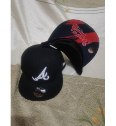MLB Atlanta Braves Hats 006