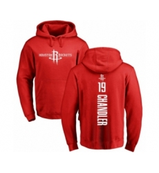 Basketball Houston Rockets #19 Tyson Chandler Red Backer Pullover Hoodie