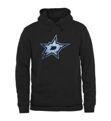 NHL Men's Dallas Stars Rinkside Pond Hockey Pullover Hoodie - Black