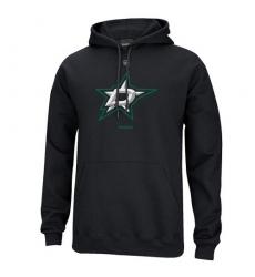 NHL Men's Reebok Dallas Stars Primary Logo Pullover Hoodie - Black
