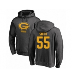 Football Green Bay Packers #55 Za'Darius Smith Ash One Color Pullover Hoodie