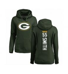 Football Women's Green Bay Packers #55 Za'Darius Smith Green Backer Hoodie