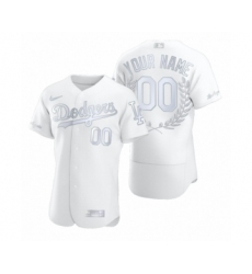 Men's Los Angeles Dodgers Custom White Awards Collection Jersey