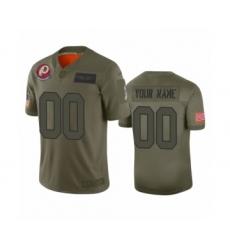 Youth Washington Redskins Customized Camo 2019 Salute to Service Limited Jersey