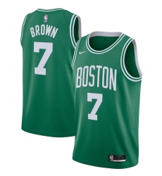 Men's Boston Celtics #7 Jaylen Brown Nike Kelly Green 2020-21 Swingman Jersey